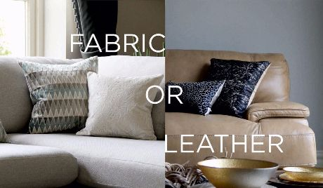 Fabric Or Leather Sofa Which One Fits Best Interior
