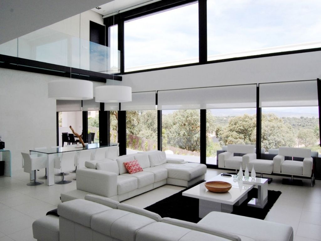 3 brilliant solutions for a sound proof window interior for Living room window design ideas
